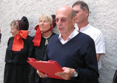 Francis Tracq rend hommage à Eugénie Goldstern dont il a fait découvrir les écrits en France