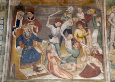 Fresque de la chapelle Saint-Antoine