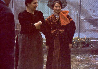 Émile Tracq, Delphine Marat, Yvonne Marat
