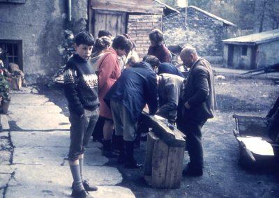 Groupe avec le jeune Hans Thomann