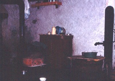 Cuisine aux Vincendières avec pompe et chaudière