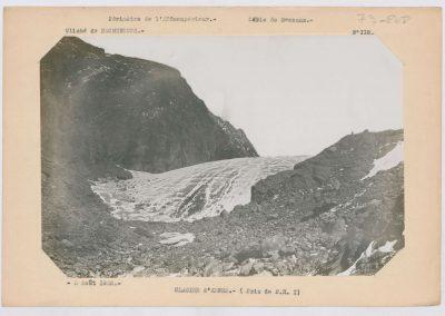 12921. Bessans. Glacier d'arnes. Haute montagne. 1925. RTM