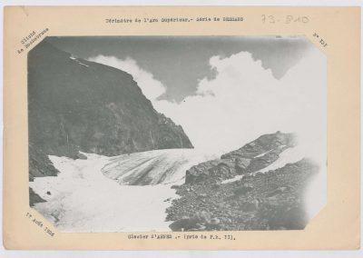 12923. Bessans. Glacier d'arnes. Haute montagne. 1925. RTM