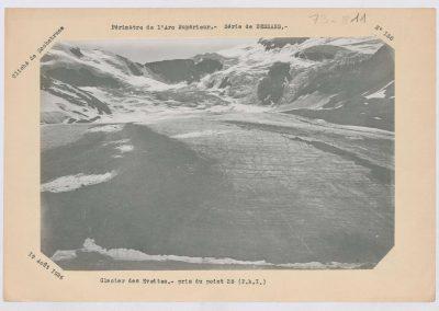 12926. Bonneval. Glacier des Evettes. Haute montagne. 1926. RTM