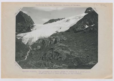 12927. Bessans. Glacier d'arnes. Haute montagne. 1922. RTM