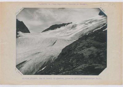 12928. Bessans. Glacier d'arnes. Haute montagne. 1922. RTM