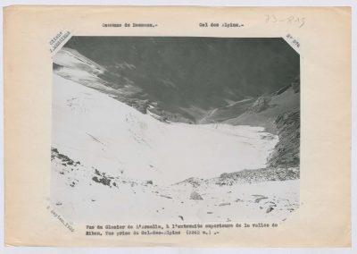 12930. Bessans. Glacier de l'Arcelle. Haute montagne. 1925. RTM