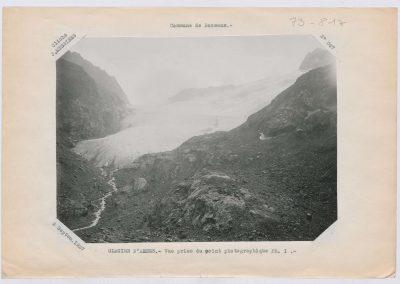 12932. Bessans. Glacier d'arnes. Haute montagne. 1927. RTM