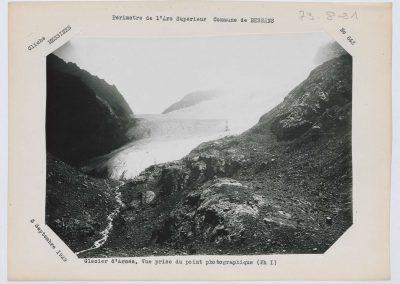12936. Bessans. Glacier d'arnes. Haute montagne. 1929. RTM