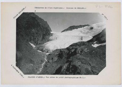12941. Bessans. Glacier d'arnes. Haute montagne. 1930. RTM