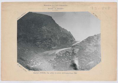 12943. Bessans. Glacier d'arnes. Haute montagne. 1932. RTM