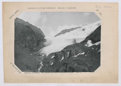 12945. Bessans. Glacier d'arnes. Haute montagne. 1933. RTM