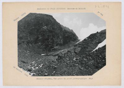 12946. Bessans. Glacier d'arnes. Haute montagne. 1933. RTM
