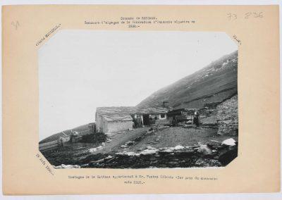 12951. Bessans. vallée d'Averole. La Motuaz. agriculture. alpage Alexis Pautaz . 1930. RTM