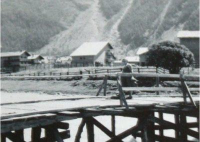 12953. Bessans. pont. aout 1956. DR