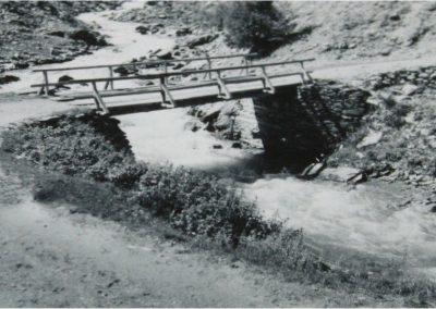 12956. Bessans. pont. aout 1956. DR