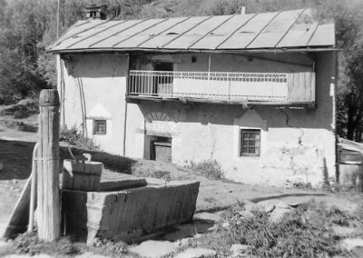 Au Villaron photo Peter Guggenbühl 1967
