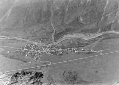 Bessans depuis Tierce photo Peter Guggenbühl 1967