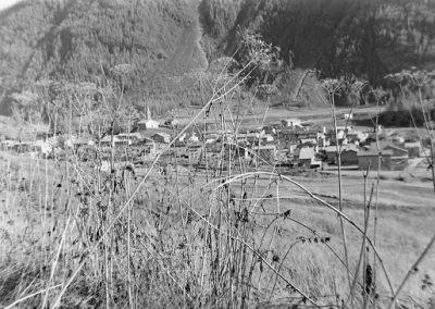 Bessans vue générale photo Peter Guggenbühl 1967