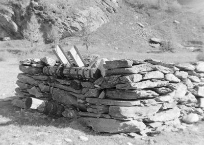 Câble des Lièéss photo Peter Guggenbühl 1967