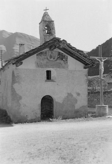 Chapelle Saint-Sébastien photo Peter Guggenbühl 1967
