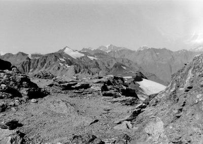 Sommets vus depuis Rochemelon photo Peter Guggenbühl 1967