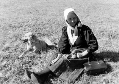 Élisabeth Marchand photo Peter Guggenbühl 1967
