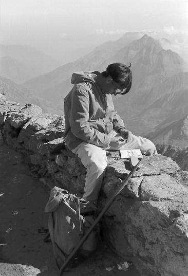 Hans Weiss à Rochemelon photo Peter Guggenbühl 1967