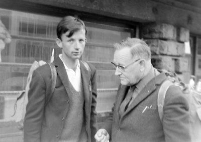 Hans Weiss et Paul Guggenbühl photo Peter Guggenbühl 1967