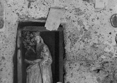 Intérieur Chapelle de Tierce photo Peter Guggenbühl 1967