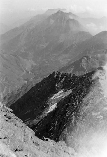 Lac du Mont Cenis vu de Rochemelon photo Peter Guggenbühl 1967