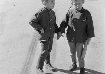 Pascal Grosset et Éric Personnaz photo Peter Guggenbühl 1967