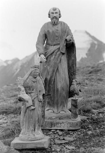 Statues chapelle de Tierce photo Peter Guggenbühl 1967